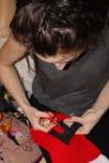 Faye making