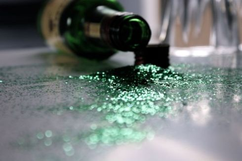 Err...waiter I think there's glitter in my whiskey