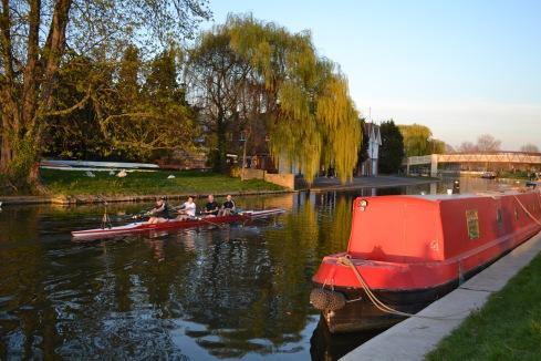Cambridge, Cambridge canal, jen's henna,