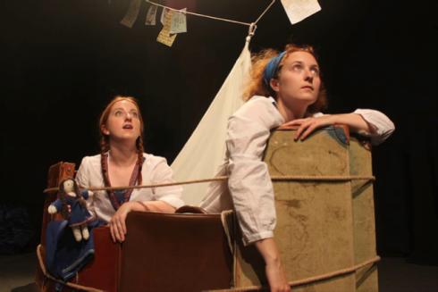 Louise Ni H-Eidhin, Mona Becker, Havarie, Lost Goose Theatre Company, Tristan Bates Theatre,